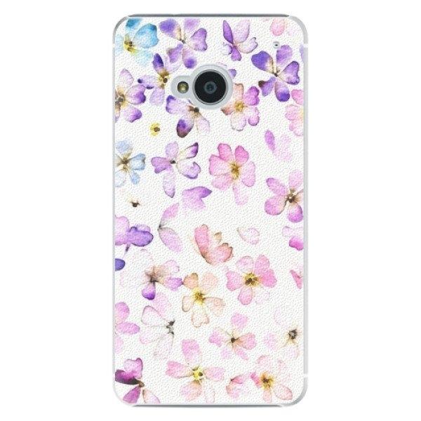 iSaprio Plastové pouzdro iSaprio - Wildflowers - HTC One M7