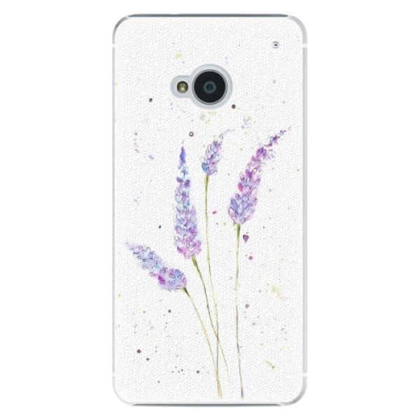 iSaprio Plastové pouzdro iSaprio - Lavender - HTC One M7
