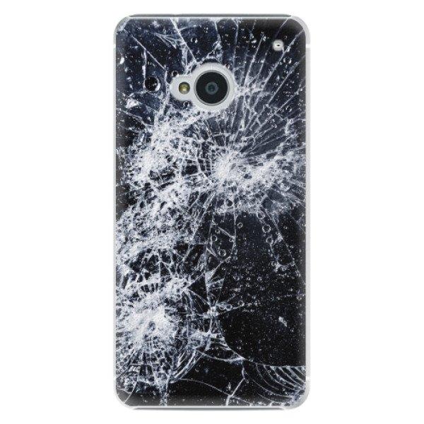 iSaprio Plastové pouzdro iSaprio - Cracked - HTC One M7