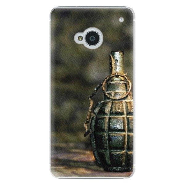 iSaprio Plastové pouzdro iSaprio - Grenade - HTC One M7