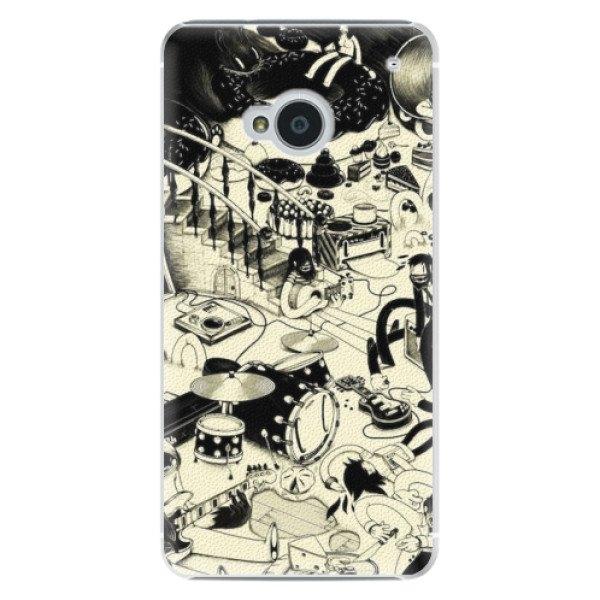 iSaprio Plastové pouzdro iSaprio - Underground - HTC One M7