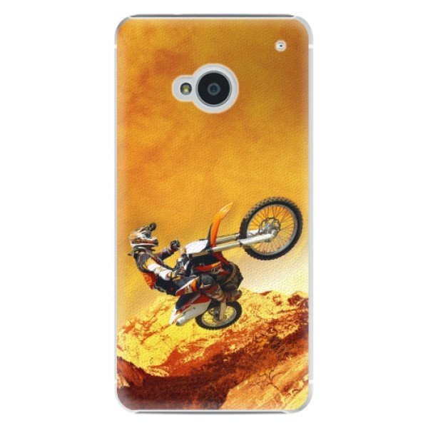iSaprio Plastové pouzdro iSaprio - Motocross - HTC One M7