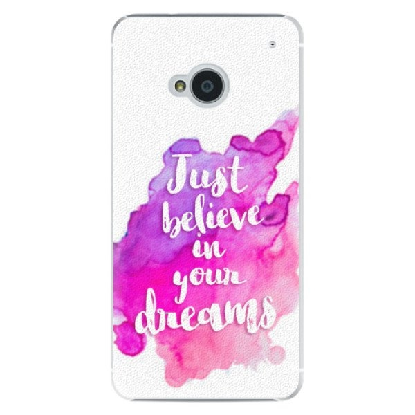 iSaprio Plastové pouzdro iSaprio - Believe - HTC One M7