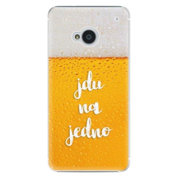iSaprio Plastové pouzdro iSaprio - Jdu na jedno - HTC One M7