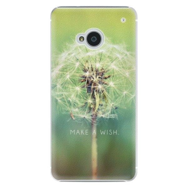 iSaprio Plastové pouzdro iSaprio - Wish - HTC One M7