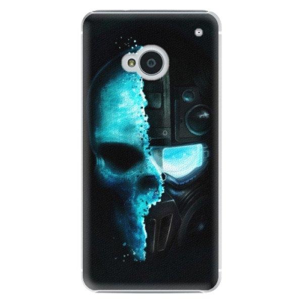iSaprio Plastové pouzdro iSaprio - Roboskull - HTC One M7
