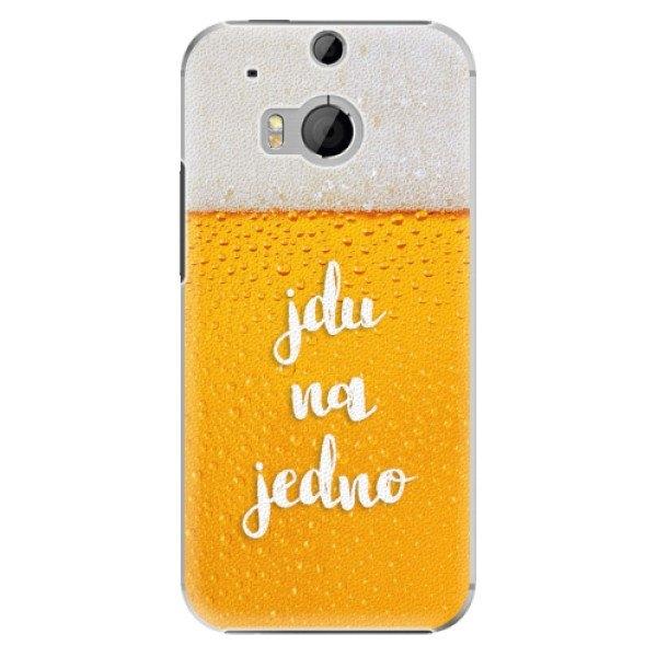 iSaprio Plastové pouzdro iSaprio - Jdu na jedno - HTC One M8