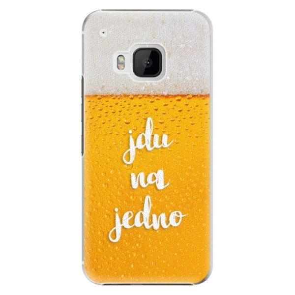 iSaprio Plastové pouzdro iSaprio - Jdu na jedno - HTC One M9