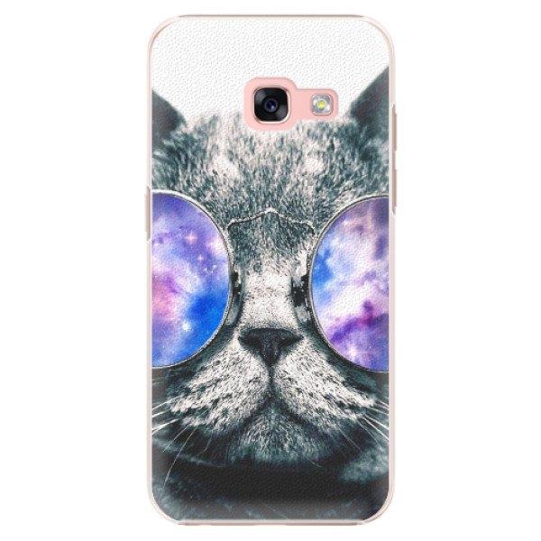 iSaprio Plastové pouzdro iSaprio - Galaxy Cat - Samsung Galaxy A3 2017