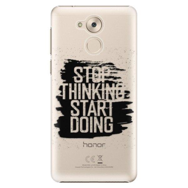 iSaprio Plastové pouzdro iSaprio - Start Doing - black - Huawei Nova Smart