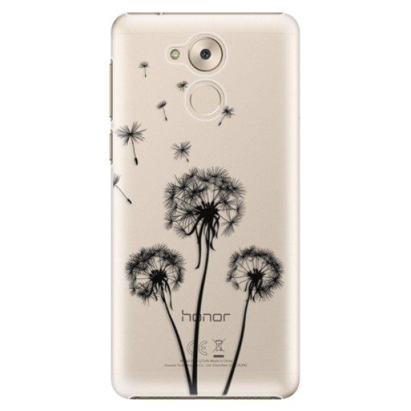 iSaprio Plastové pouzdro iSaprio - Three Dandelions - black - Huawei Nova Smart
