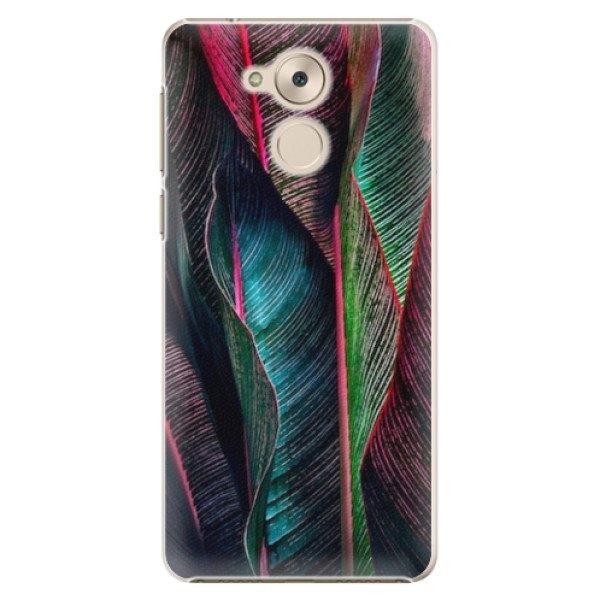 iSaprio Plastové pouzdro iSaprio - Black Leaves - Huawei Nova Smart