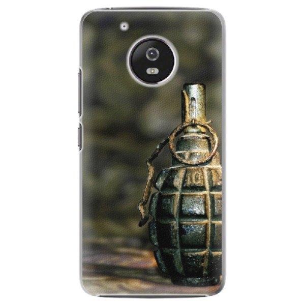 iSaprio Plastové pouzdro iSaprio - Grenade - Lenovo Moto G5