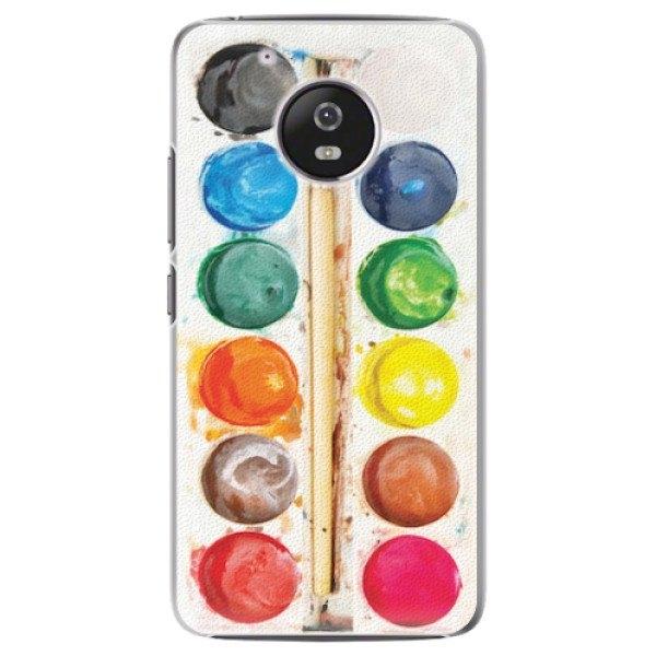iSaprio Plastové pouzdro iSaprio - Watercolors - Lenovo Moto G5