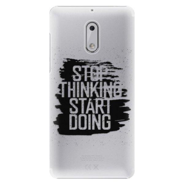 iSaprio Plastové pouzdro iSaprio - Start Doing - black - Nokia 6