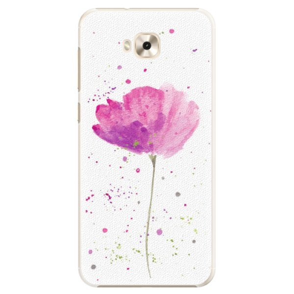 iSaprio Plastové pouzdro iSaprio - Poppies - Asus ZenFone 4 Selfie ZD553KL