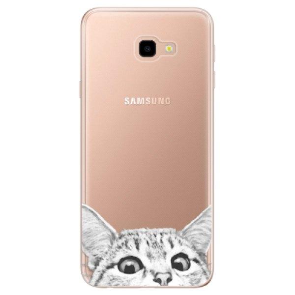 iSaprio Odolné silikonové pouzdro iSaprio - Cat 02 - Samsung Galaxy J4+