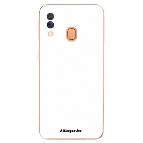 iSaprio Odolné silikonové pouzdro iSaprio - 4Pure - bílý - Samsung Galaxy A40