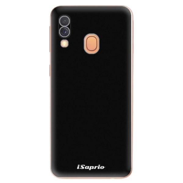 iSaprio Odolné silikonové pouzdro iSaprio - 4Pure - černý - Samsung Galaxy A40