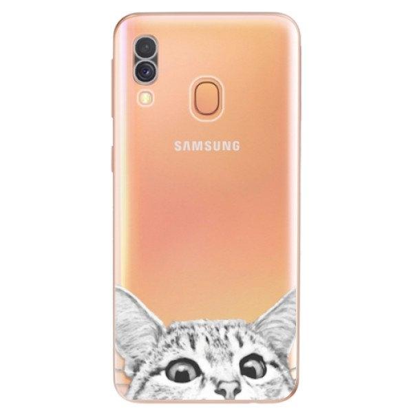iSaprio Odolné silikonové pouzdro iSaprio - Cat 02 - Samsung Galaxy A40