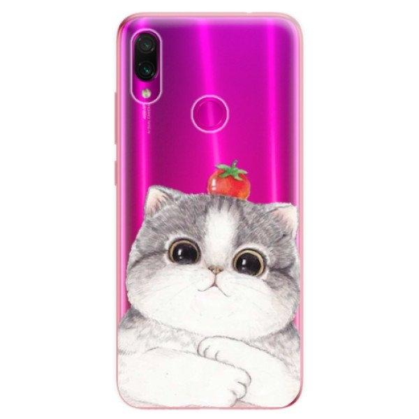 iSaprio Odolné silikonové pouzdro iSaprio - Cat 03 - Xiaomi Redmi Note 7