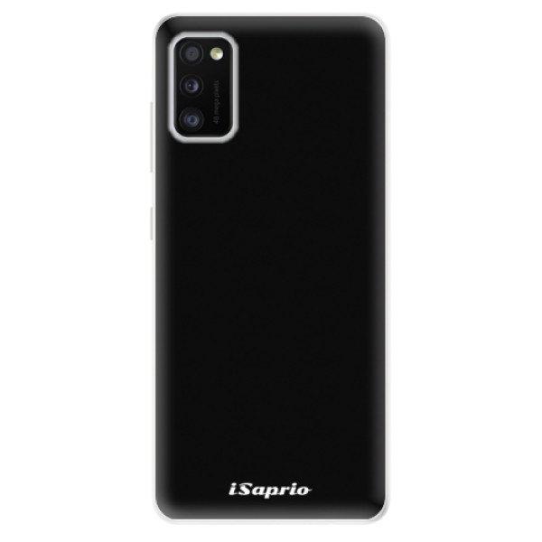 iSaprio Odolné silikonové pouzdro iSaprio - 4Pure - černý - Samsung Galaxy A41