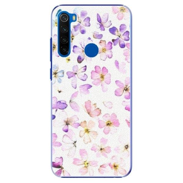 iSaprio Plastové pouzdro iSaprio - Wildflowers - Xiaomi Redmi Note 8T