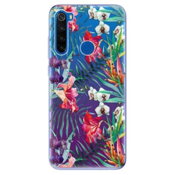 iSaprio Odolné silikonové pouzdro iSaprio - Flower Pattern 03 - Xiaomi Redmi Note 8T