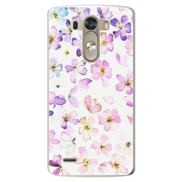 iSaprio Plastové pouzdro iSaprio - Wildflowers - LG G3 (D855)