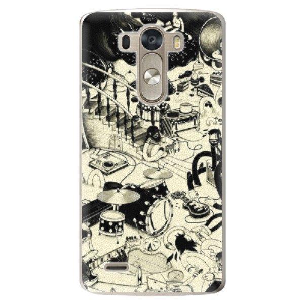 iSaprio Plastové pouzdro iSaprio - Underground - LG G3 (D855)