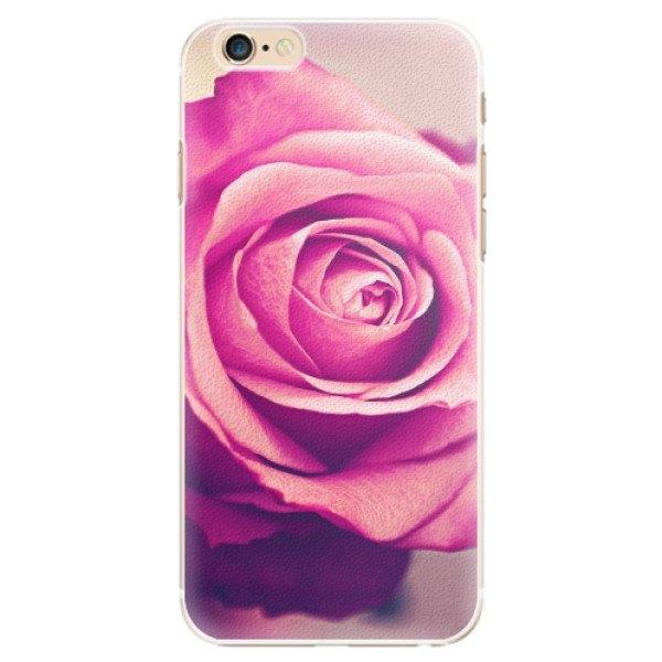 iSaprio Plastové pouzdro iSaprio - Pink Rose - iPhone 6/6S