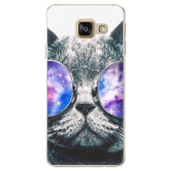 iSaprio Plastové pouzdro iSaprio - Galaxy Cat - Samsung Galaxy A3 2016