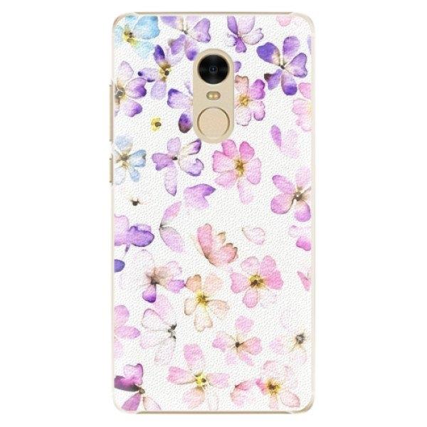 iSaprio Plastové pouzdro iSaprio - Wildflowers - Xiaomi Redmi Note 4