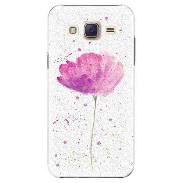 iSaprio Plastové pouzdro iSaprio - Poppies - Samsung Galaxy Core Prime