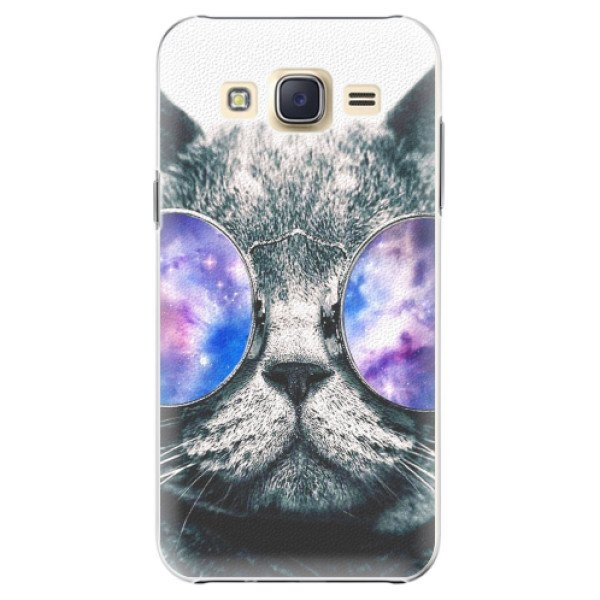 iSaprio Plastové pouzdro iSaprio - Galaxy Cat - Samsung Galaxy Core Prime
