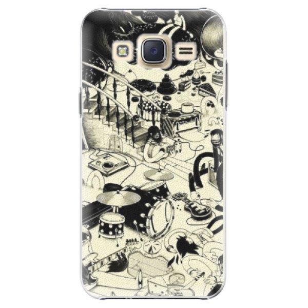 iSaprio Plastové pouzdro iSaprio - Underground - Samsung Galaxy Core Prime