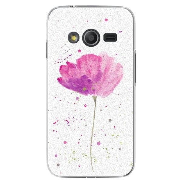 iSaprio Plastové pouzdro iSaprio - Poppies - Samsung Galaxy Trend 2 Lite