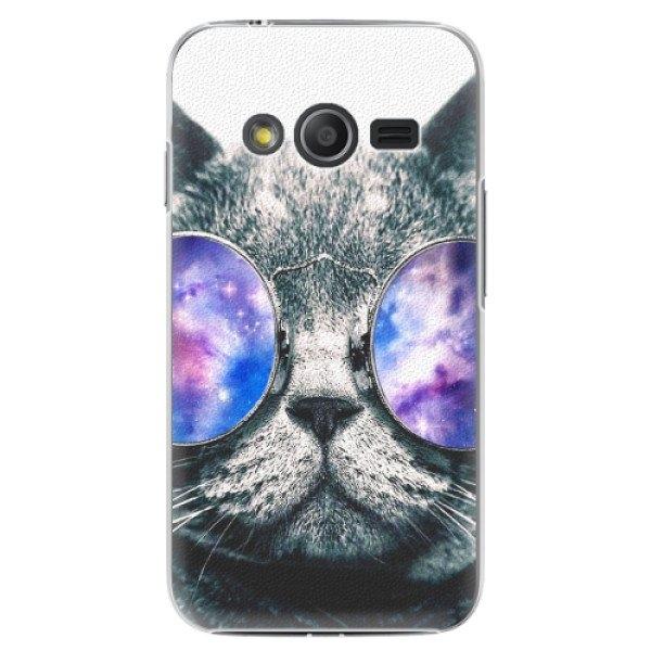 iSaprio Plastové pouzdro iSaprio - Galaxy Cat - Samsung Galaxy Trend 2 Lite