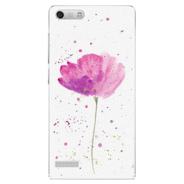 iSaprio Plastové pouzdro iSaprio - Poppies - Huawei Ascend G6