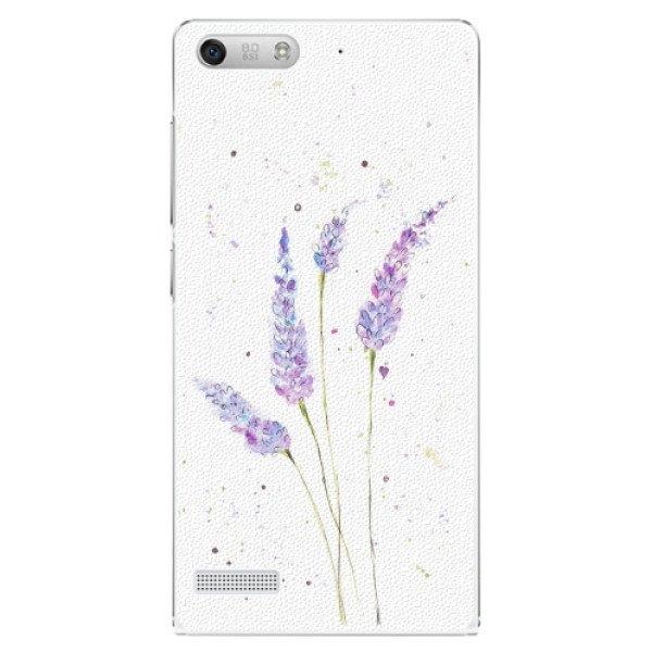 iSaprio Plastové pouzdro iSaprio - Lavender - Huawei Ascend G6