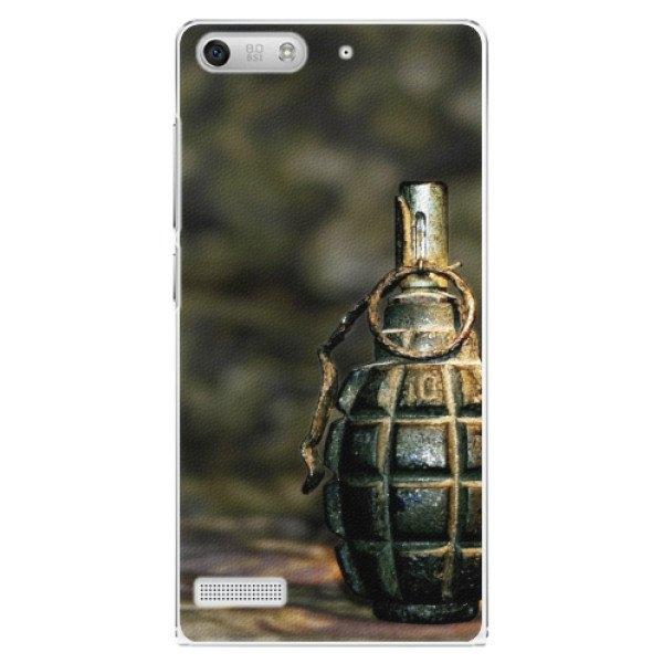 iSaprio Plastové pouzdro iSaprio - Grenade - Huawei Ascend G6