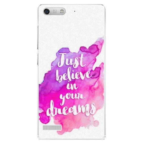 iSaprio Plastové pouzdro iSaprio - Believe - Huawei Ascend G6
