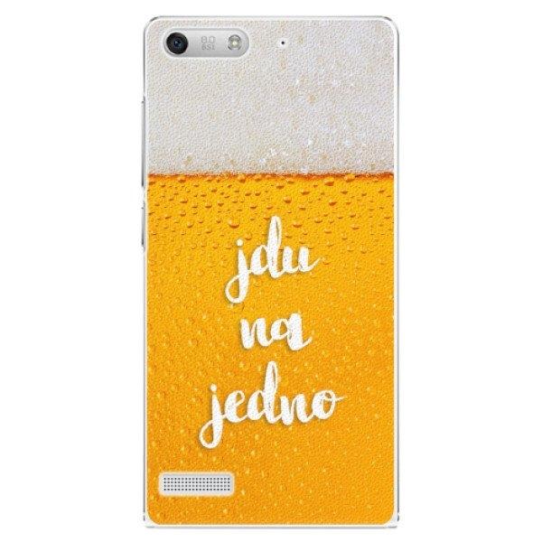 iSaprio Plastové pouzdro iSaprio - Jdu na jedno - Huawei Ascend G6