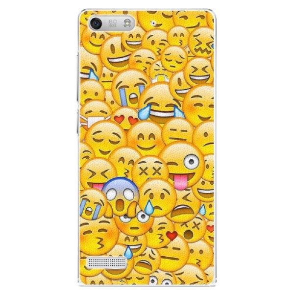 iSaprio Plastové pouzdro iSaprio - Emoji - Huawei Ascend G6