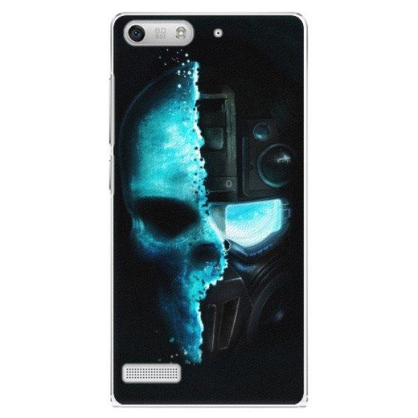 iSaprio Plastové pouzdro iSaprio - Roboskull - Huawei Ascend G6