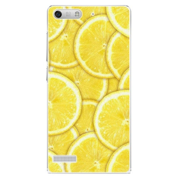 iSaprio Plastové pouzdro iSaprio - Yellow - Huawei Ascend G6