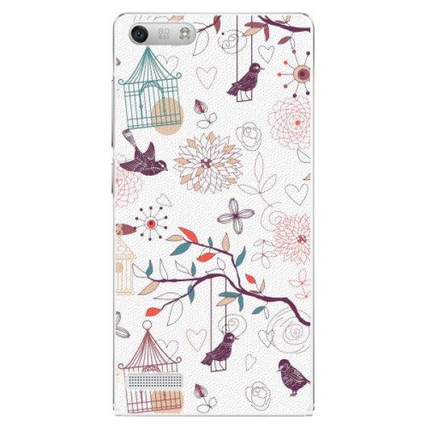 iSaprio Plastové pouzdro iSaprio - Birds - Huawei Ascend G6