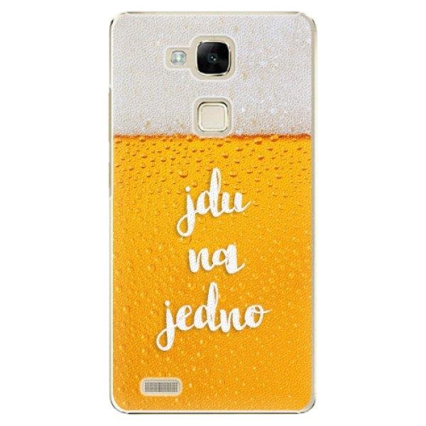 iSaprio Plastové pouzdro iSaprio - Jdu na jedno - Huawei Mate7