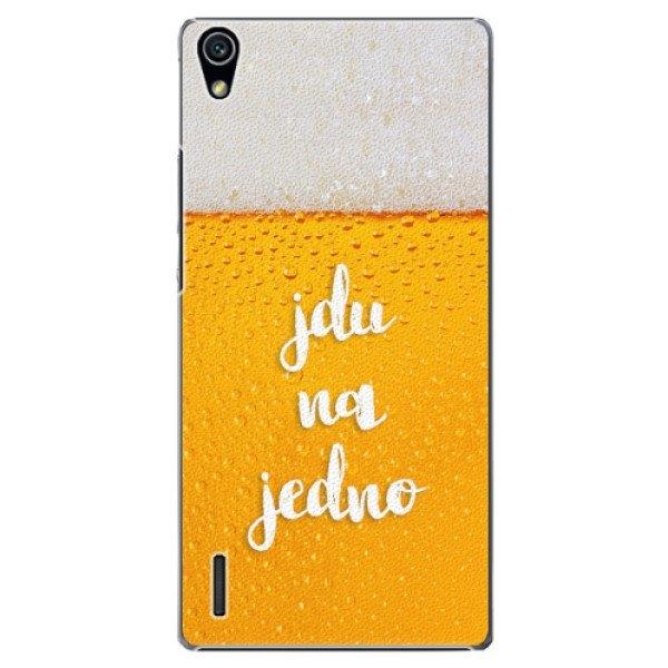 iSaprio Plastové pouzdro iSaprio - Jdu na jedno - Huawei Ascend P7