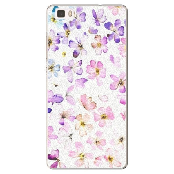 iSaprio Plastové pouzdro iSaprio - Wildflowers - Huawei Ascend P8 Lite
